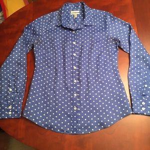 J. Crew classic linen shirt
